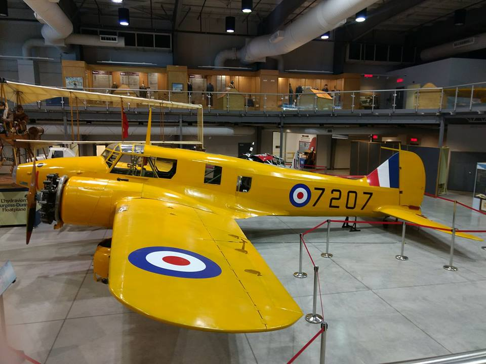 Avro Anson – National Air Force Museum of Canada